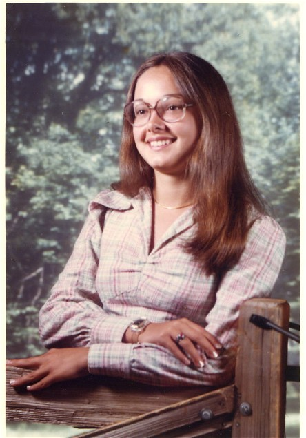 Senior Picture 1976-1977