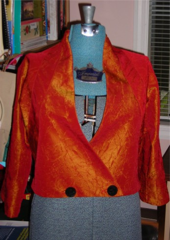 A jacket I made several years ago.