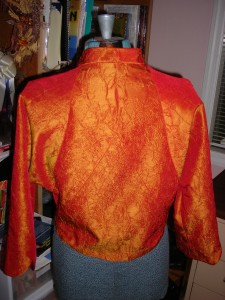 Back -- notice the intricate seaming