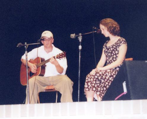 "Josh Stock and Amanda ""Hymnsong"" 2000"