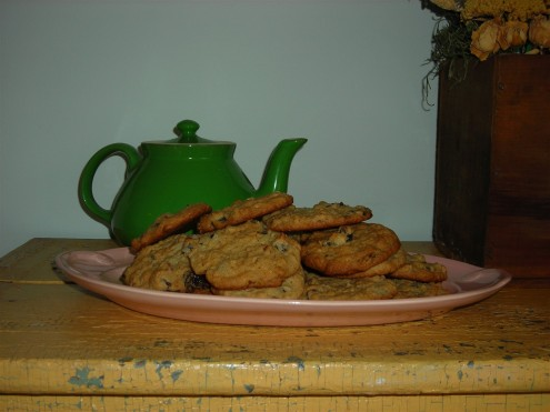 Honey-Oatmeal Cookies