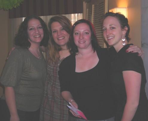 Nieces Jessica, Teresa, Rebekah, and darling daughter, Amanda