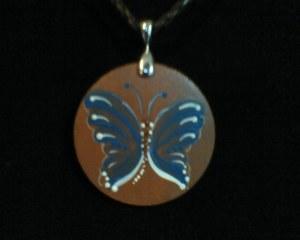 Kayla's Butterfly Pendant