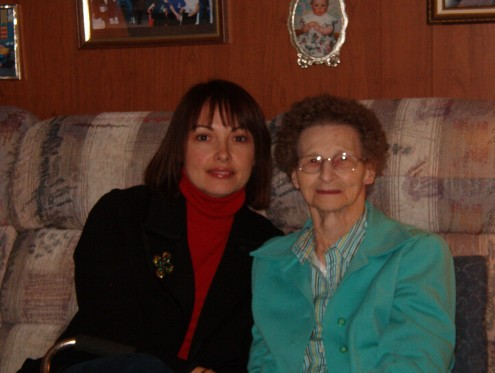 Grammy and me :-)