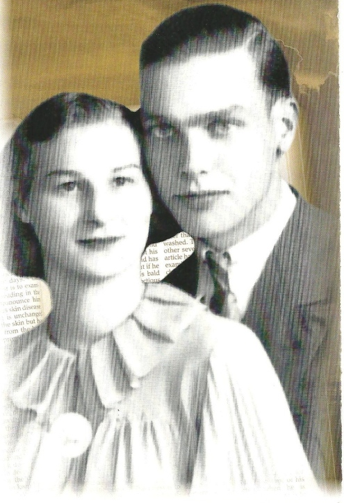 Pappy and Grammy -- he was the love of her life!