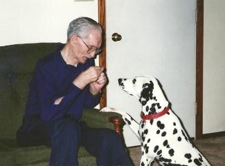 Grandpap and Molly