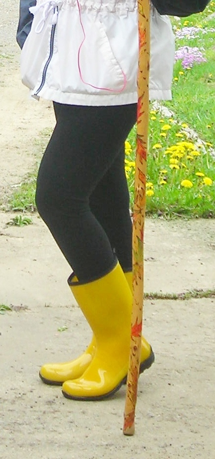 My Awesome Rainboots!!