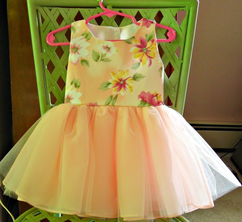 Dress for Tab's baby girl
