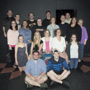 The cast of the cabaret